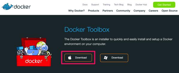 Docker Toolbox Docker
